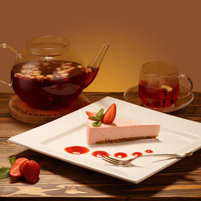 клубничный чизкейк десерт